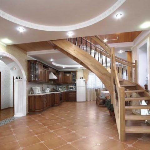 Забежные лестницы